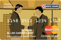 Business debit card review cardbhai india credit cards reviews cardbhai received information on hdfc banks business debit card here is the review of the same reheart Images
